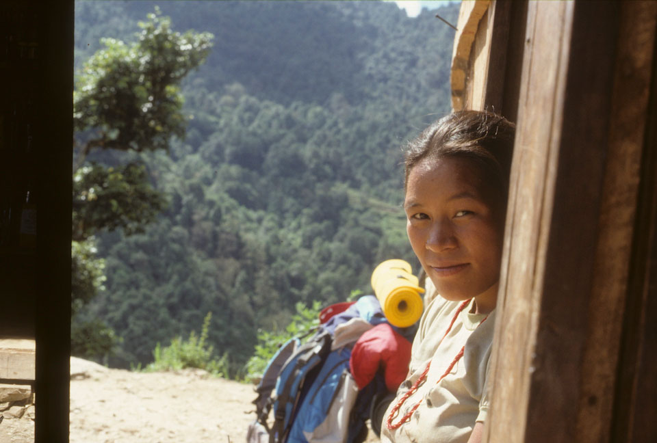 Yet another friendly face in Nepal.