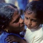 Woman and child, Sri Lanka