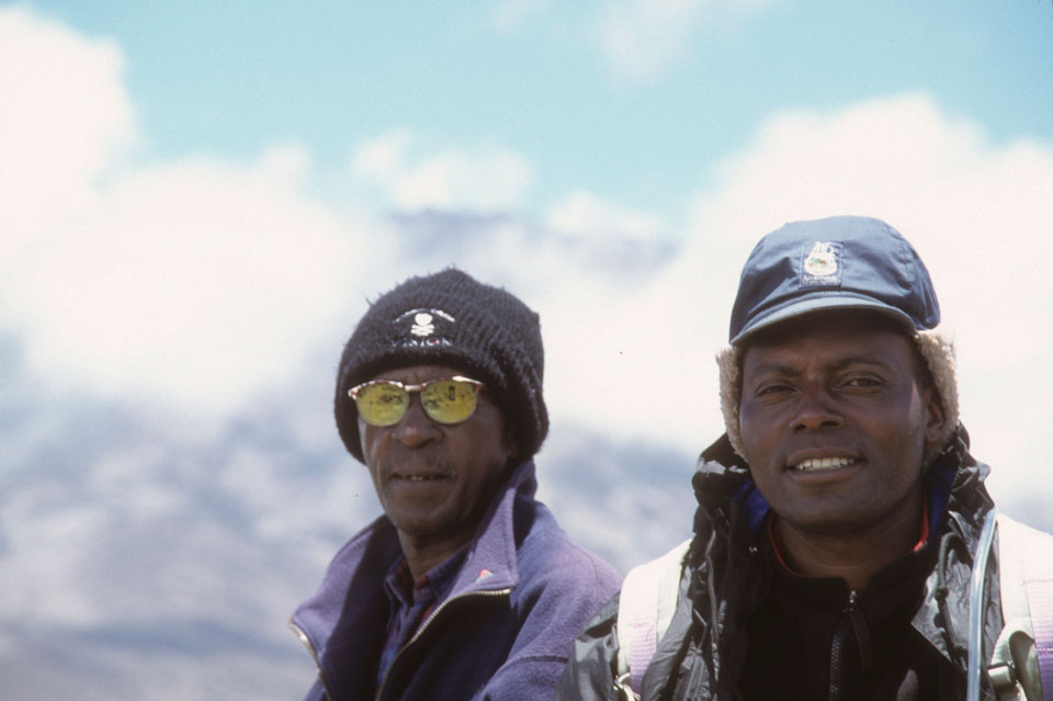 Our guides for the ascent of Kilimanjaro, Tanzania.