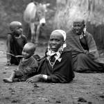 Maasai family, Tanzania