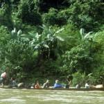 Longboat, Borneo