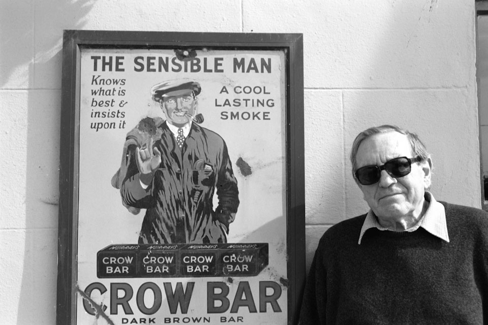 My dad Irwin Hadden, a reformed smoker.