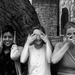 Sabina, Marcella and Elsbeth are the three international monkeys.