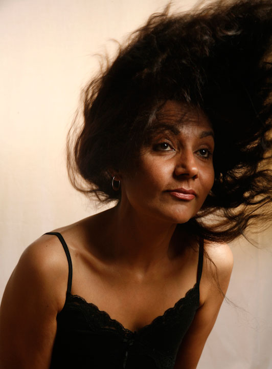 Bushra Khan, sublime with hair
