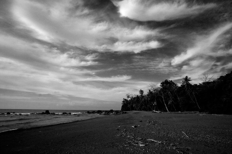 A beach in Corcovado National Park, Costa Rica