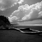 A beach in Corcovado National Park, Costa Rica