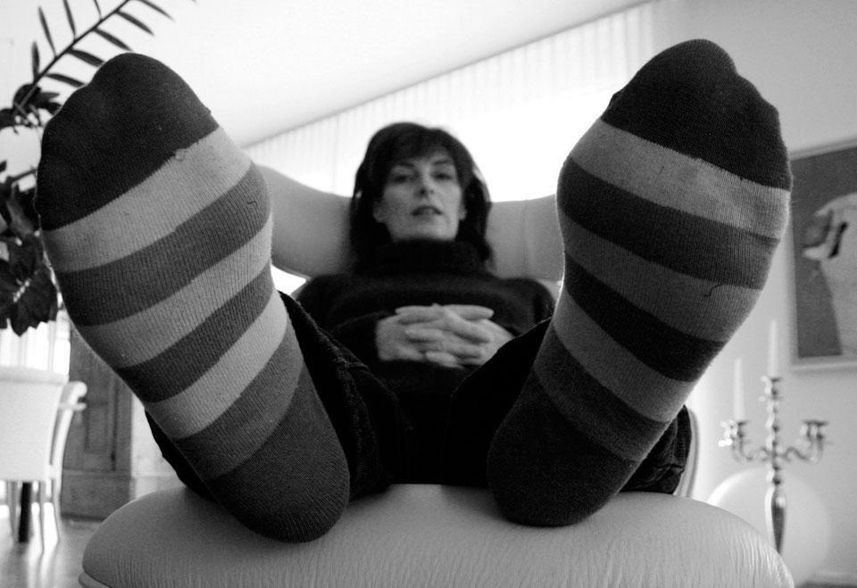 Cecilia McAnulty / Hadden, bigfoot in St Gallen