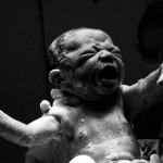 Douglas Hadden, dramatic birth