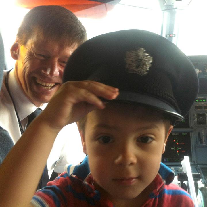 Captain Hadden on board BA flight 969 Hamburg to London Heathrow
